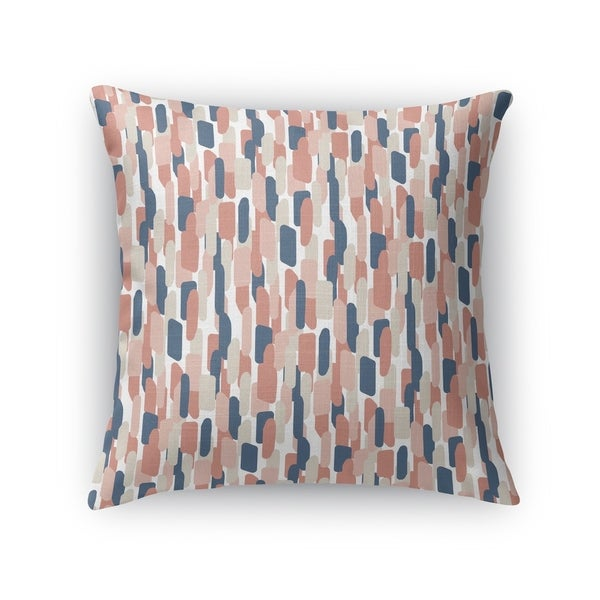 NEVALI V PINK Accent Pillow By Kavka Designs