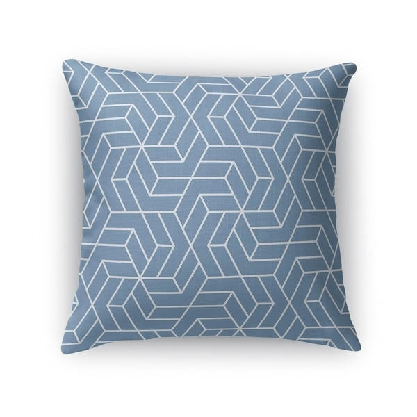 TITAN BLUE Accent Pillow By Kavka Designs