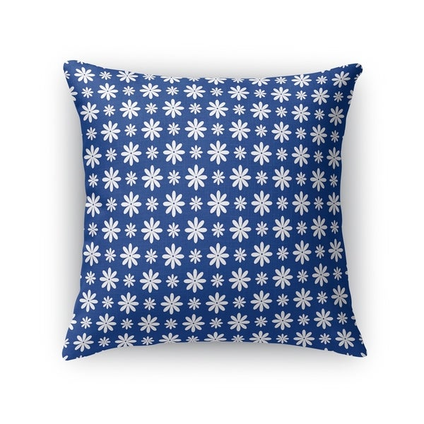 FLOWER SHOWER BLUE Accent Pillow By Kavka Designs