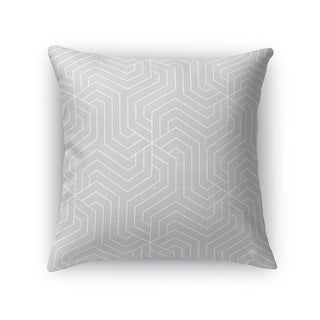 BRICKLE GREY Accent Pillow By Kavka Designs