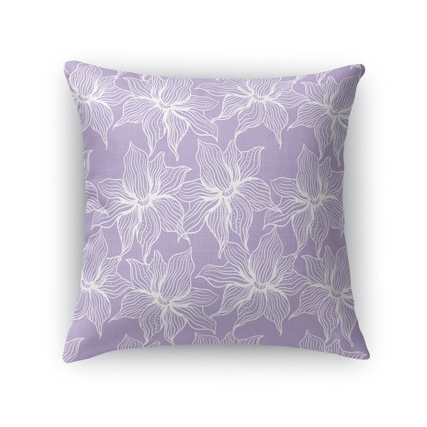 POSEIDON PURPLE Accent Pillow By Kavka Designs