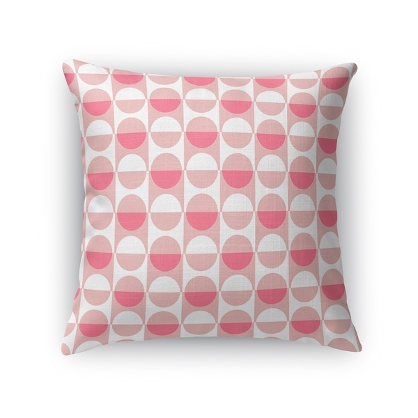 MOD SQUAD PINK Accent Pillow By Kavka Designs