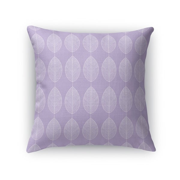 LEAF KEEF PURPLE Accent Pillow By Kavka Designs