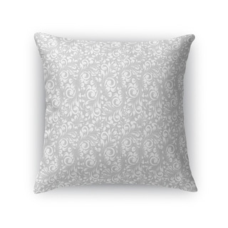 PLUMERIA GREY Accent Pillow By Kavka Designs