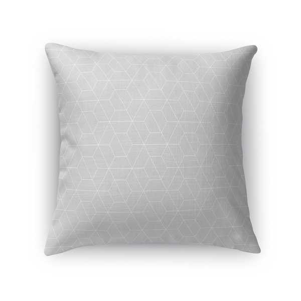 TRON GREY Accent Pillow By Kavka Designs