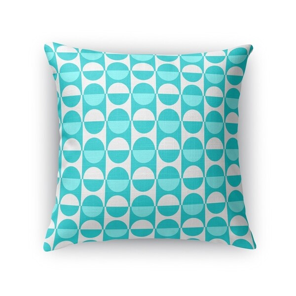 MOD SQUAD TEAL Accent Pillow By Kavka Designs