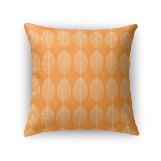 Carson Carrington Ranarp Orange Decorative Accent Pillow