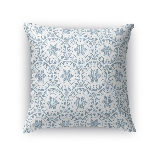 FREE SPIRIT BLUE Accent Pillow By Kavka Designs