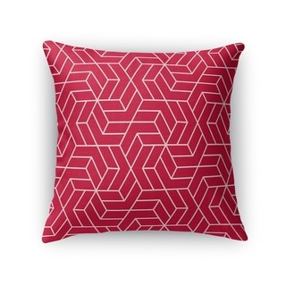 TITAN RED Accent Pillow By Kavka Designs