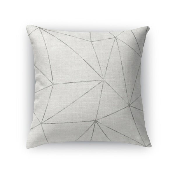 PRISM LIGHT SILVER Accent Pillow By Kavka Designs