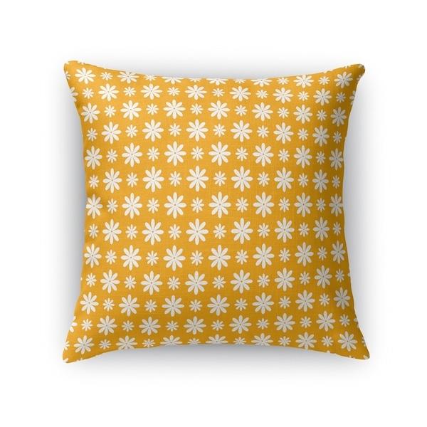 FLOWER SHOWER ORANGE Accent Pillow By Kavka Designs