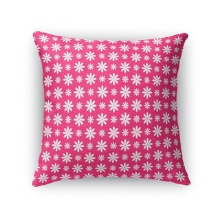 FLOWER SHOWER PINK Accent Pillow By Kavka Designs