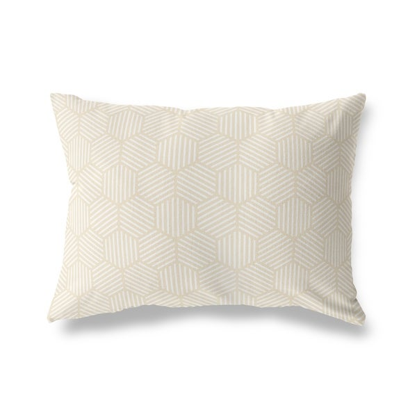 ATHENA OATMEAL Lumbar Pillow By Kavka Designs