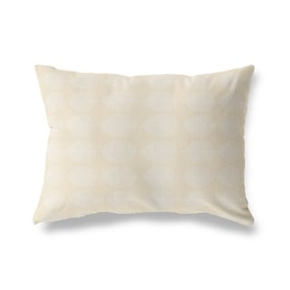 LEAF KEEF OATMEAL Lumbar Pillow By Kavka Designs
