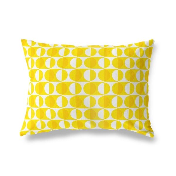 MOD SQUAD YELLOW Lumbar Pillow By Kavka Designs