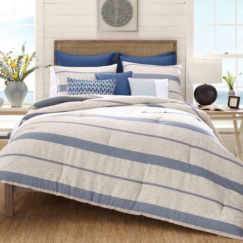 Nautica Norcross Navy Cotton Comforter Set