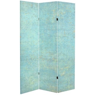 Handmade 6' Canvas Voice of the Sky Room Divider