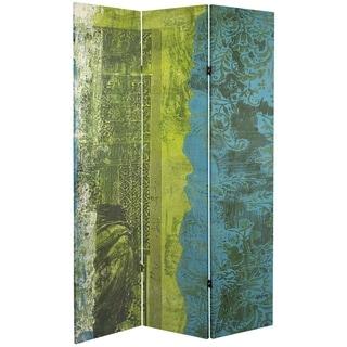 Handmade 6' Canvas Philosopher's Gate Room Divider