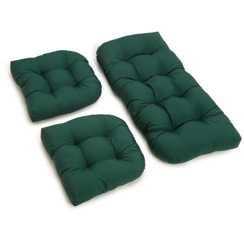 Porch & Den Amicus 3-piece Indoor Settee Cushion Set