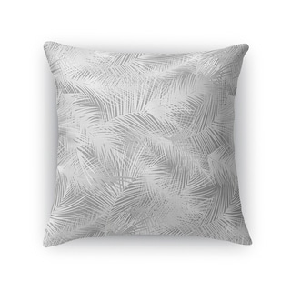 PALM CHEER GREY Accent Pillow By Kavka Designs