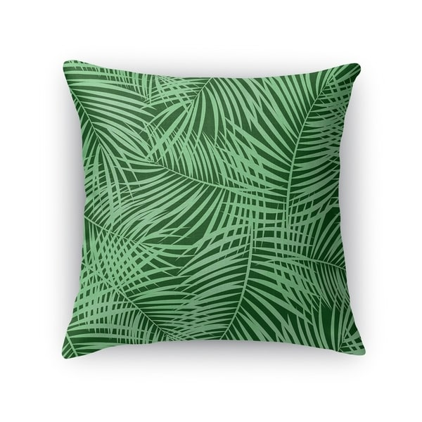 PALM PLAY GREEN Accent Pillow By Kavka Designs