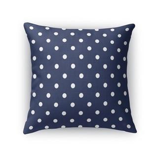 POLKA DOTS NAVY Accent Pillow By Kavka Designs