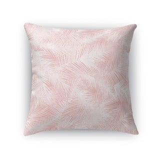 PALM CHEER PINK Accent Pillow By Kavka Designs