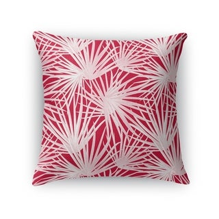 PALM BALM RED Accent Pillow By Kavka Designs