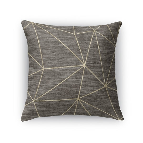 PRISM GOLD Accent Pillow By Kavka Designs