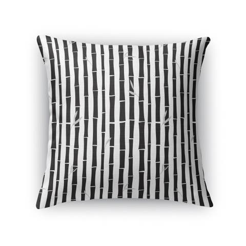 BAMBOO BLACK Accent Pillow by Kavka Designs