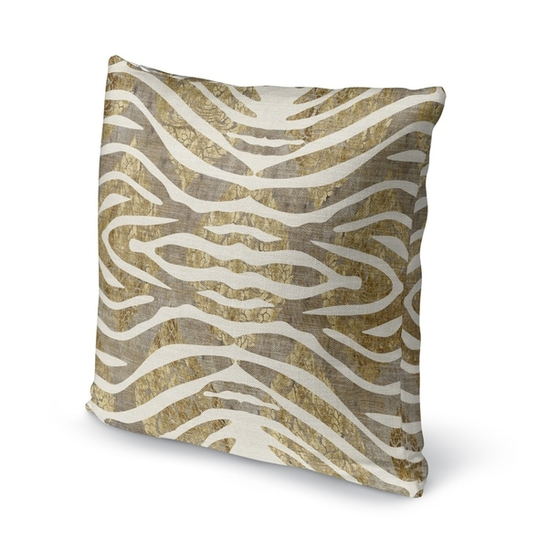 TIGER GOLD Accent Pillow By Kavka Designs
