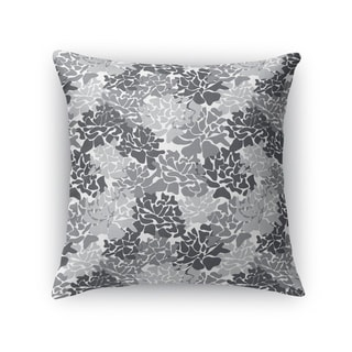 PEONIES GREY Accent Pillow By Kavka Designs