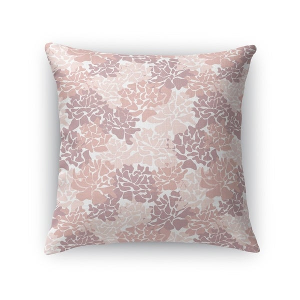 PEONIES RED Accent Pillow By Kavka Designs