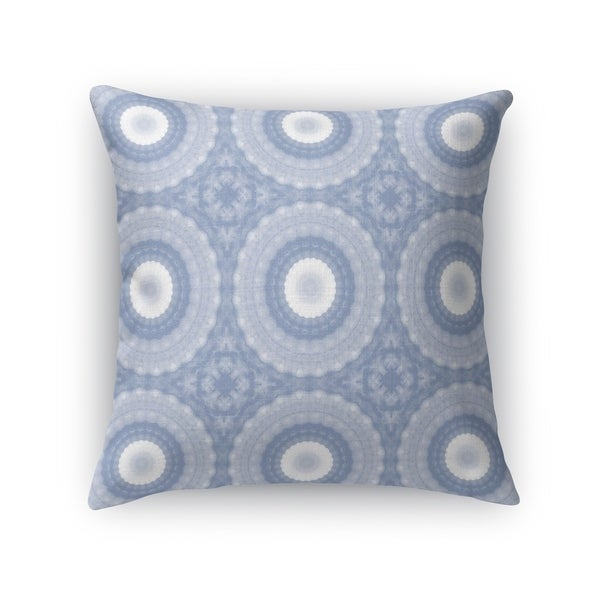 SHELL MANDALAS PERIWINKLE Accent Pillow By Kavka Designs