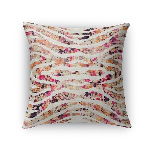 TIGER PINK Accent Pillow By Kavka Designs