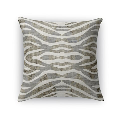 TIGER GREY Accent Pillow by Kavka Designs