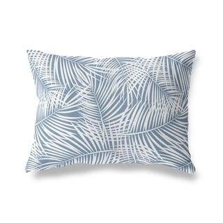 PALM PLAY BLUE Lumbar Pillow By Kavka Designs