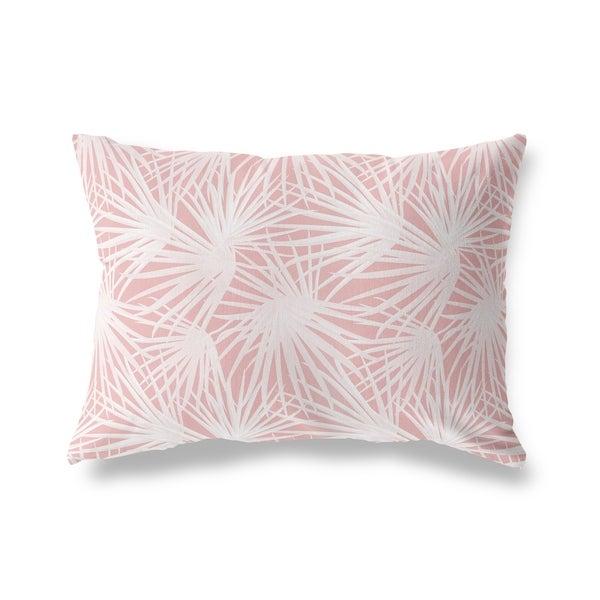 PALM BALM PINK Lumbar Pillow By Kavka Designs
