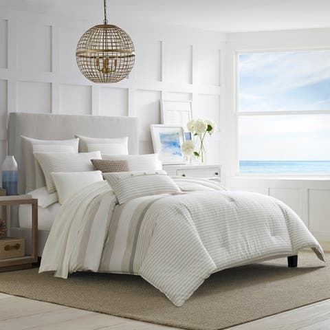 Nautica Saybrook Cotton Duvet Cover Set