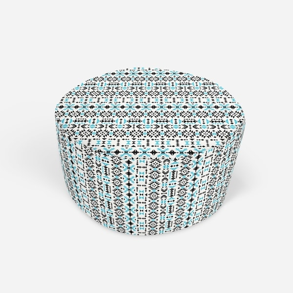 MORRO Round Pouf By Kavka Designs