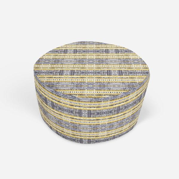 SHIMLA Round Pouf By Kavka Designs