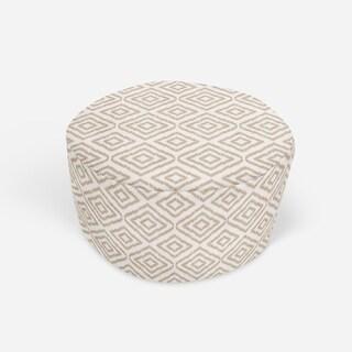 SUMATRA TAN Round Pouf By Kavka Designs