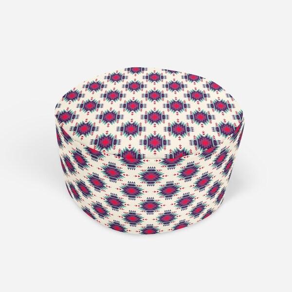 MILA Round Pouf By Kavka Designs