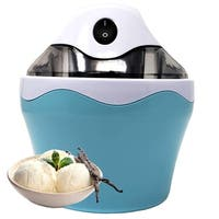 BPA Free Electric Mini Ice Cream Maker 16 oz (1 Pint) With Anti Skid Bottom, Make Quick & Easy Home Made Ice cream