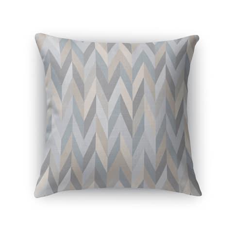 AARON GREY Indoor-Outdoor Pillow By Kavka Designs