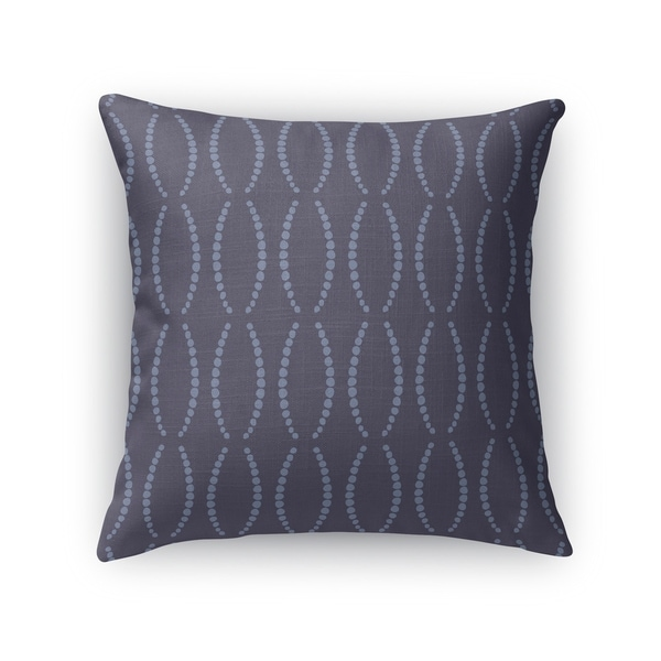 BEADS NAVY Indoor Outdoor Pillow By Kavka Designs