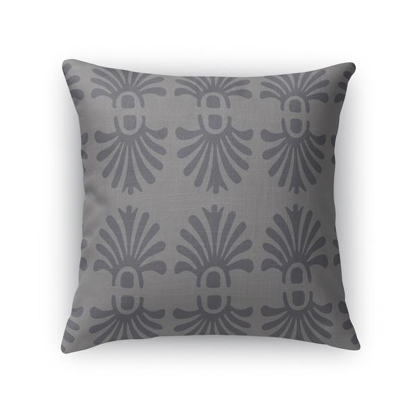 FLUERONS GREY Indoor|Outdoor Pillow By Kavka Designs