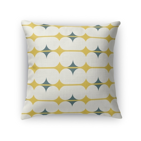 CAPSULES GOLD Indoor|Outdoor Pillow By Kavka Designs