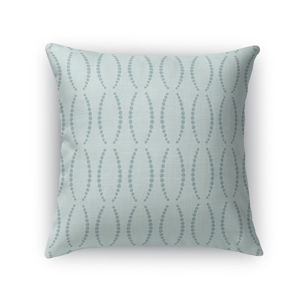 BEADS MINT Indoor Outdoor Pillow By Kavka Designs