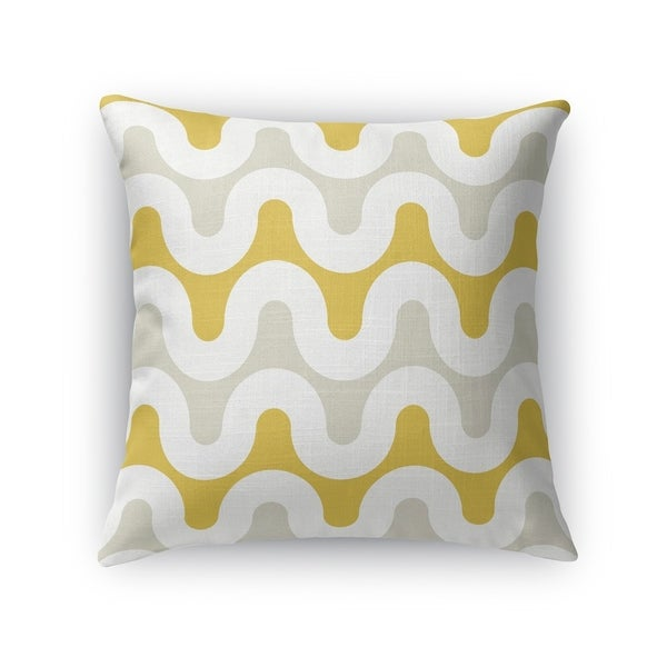 ANALOG GOLD Indoor Outdoor Pillow By Kavka Designs